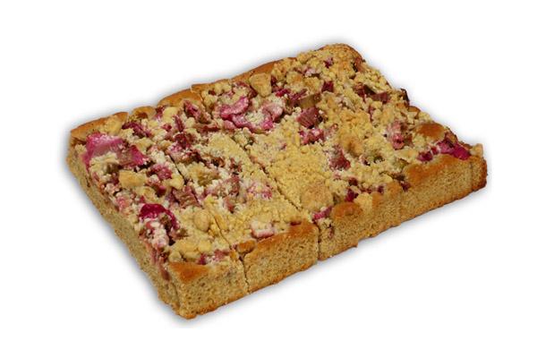 Rhabarberkuchen mit Steussel