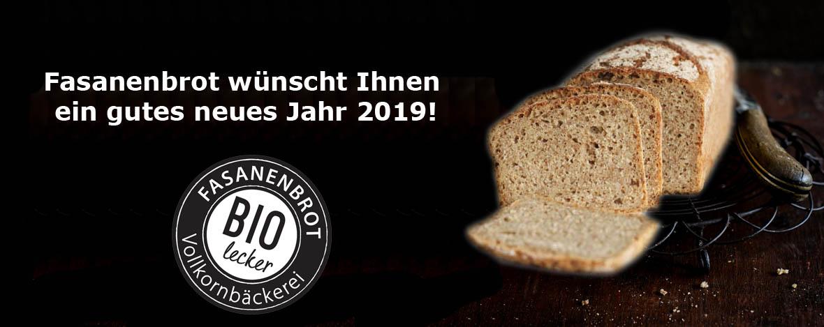 Fasanenbrot Neujahr 2019